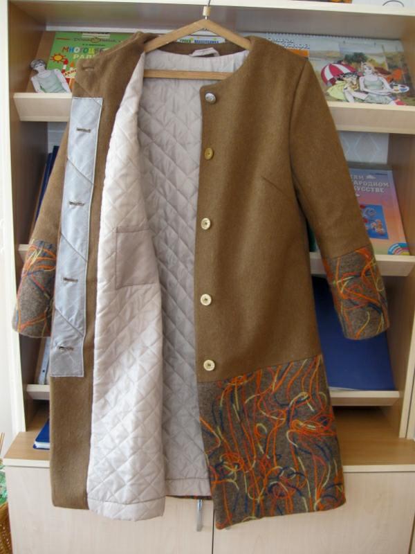 Пальто летнее - Выкройка #4081.